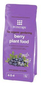 EcoScraps PFB174404 Natural and Organic Berry Plant Food
