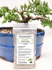 Bonsai Fertilizer Pellets by Perfect Plants