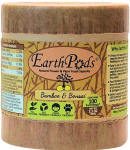 Earthworm Technologies EarthPods Bamboo & Bonsai Plant Food