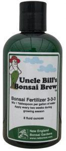 New England Bonsai Gardens Uncle Bill's Liquid Bonsai Fertilizer