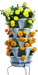 5-Tier Stackable Planter – Vertical Garden