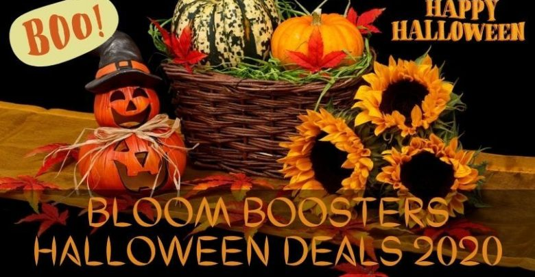 Bloom Boosters Halloween Deals 2020