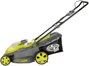 Sun Joe cordless lawn mower for St Augustine