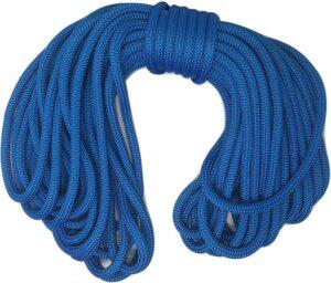 "1/2"" X 150' Blue Double Braided Nylon Rope"