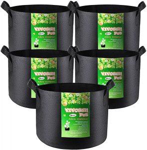 Vivosun fabric grow pots