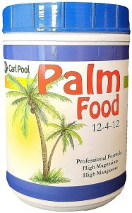 Carl Pool palm fertilization