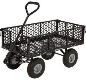 Strongway Steel Garden Wagon